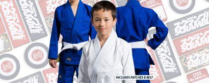 Scramble BJJ Kids Gi